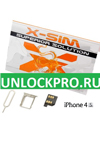Купить X-sim для UNLOCK iPhone 4S