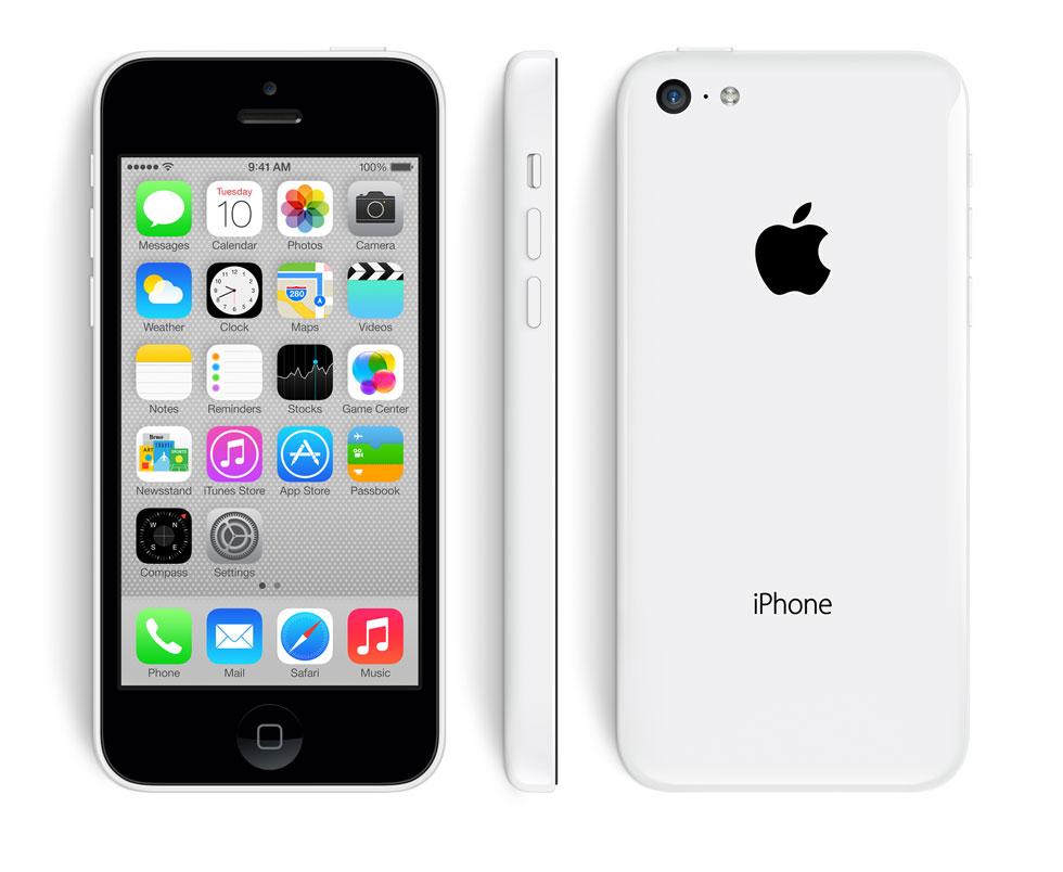 Новый Apple iPhone 5С. Теперь Зеленый, Синий, Желтый, Розовый и ...